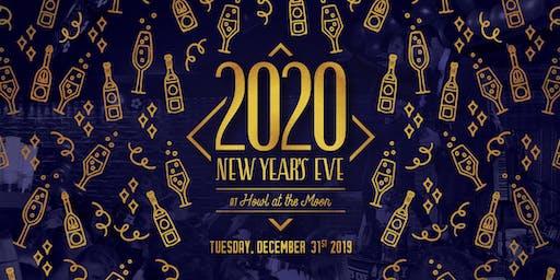 New Year's Eve 2020 at Howl at the Moon Hollywood!