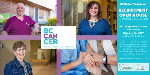 BC Cancer Vancouver Open House