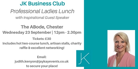 JK Business Club Professional Ladies Lunch tickets