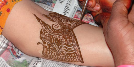 Diwali-inspired light up cards and henna body art for 5th-12th graders-free