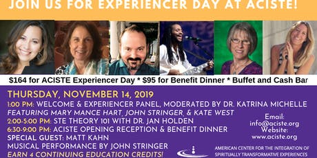 ACISTE Benefit Dinner: An Evening with Matt Kahn & John Stringer  tickets