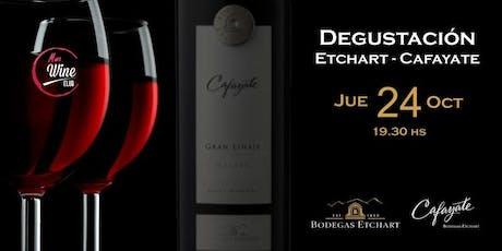 Cena con Degustación de Vinos Etchart y Cafayate entradas