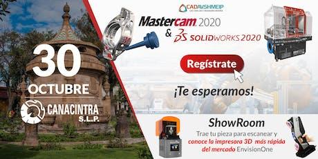 Lanzamiento SolidWorks & Mastercam 2020, San Luis Potosí boletos