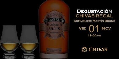 Degustación Chivas Regal con Martín Bruno entradas