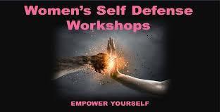 4 HOUR WOMEN SELF DEFENSE WORKSHOP  -  $35
