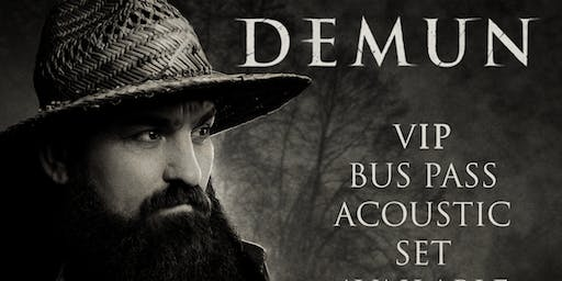 Demun Jones VIP Bus Pass (Medford, OR) SOLD OUT!