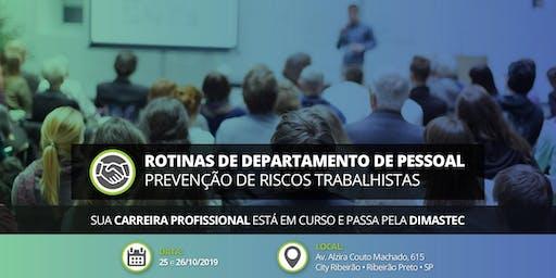 Rotinas Departamento Pessoal  •  25 e 26/10/2019 em Ribeirão Preto
