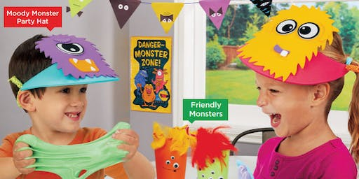 Lakeshore's Free Crafts for Kids Monster Celebration Saturdays in October (Maplewood)
