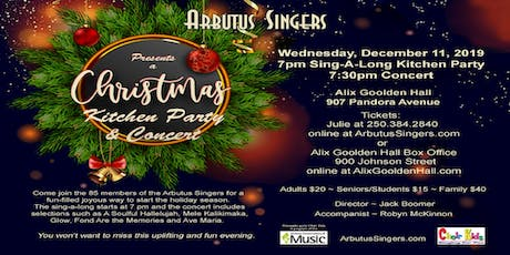Arbutus Singers Christmas and Carol Sing tickets