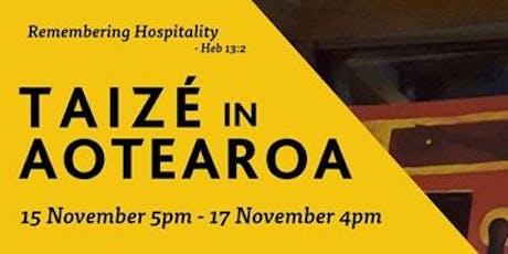 Taize Aotearoa tickets