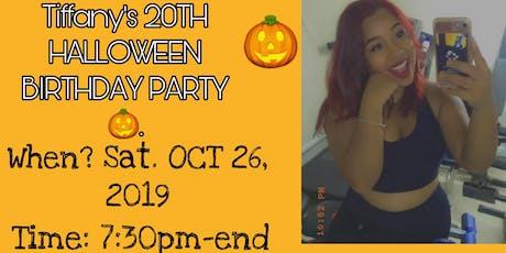 Tiffany's 20th Halloween Birthday tickets