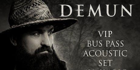 Demun Jones VIP Bus Pass (Bend, OR) tickets