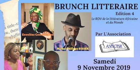 Brunch littéraire Edition 4 billets