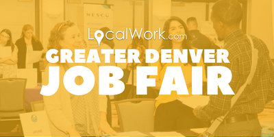 Greater Denver Job Fair | Multiple Colorado Companies Hiring - October 2019