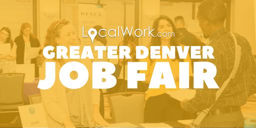 Greater Denver Job Fair | Multiple Colorado Companies Hiring - October 2019