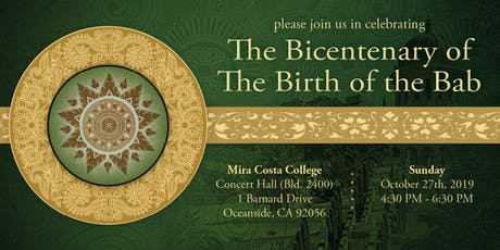 The Bicentenary of The Birth of the Bab tickets