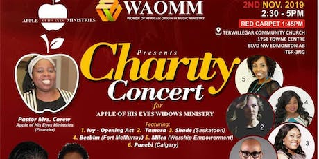 Charity Concert for Widows, Single Moms & Widowers tickets