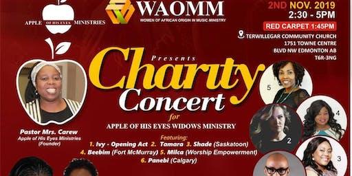 Charity Concert for Widows, Single Moms & Widowers