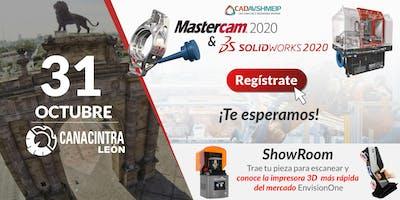 Lanzamiento SolidWorks & Mastercam 2020, León, Guanajuato