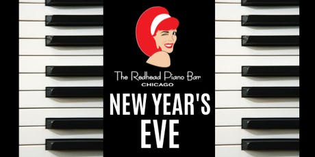 New Year's Eve at The Redhead Piano Bar tickets