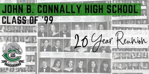 John B. Connally High School Class of '99 - 20 Year Reunion!