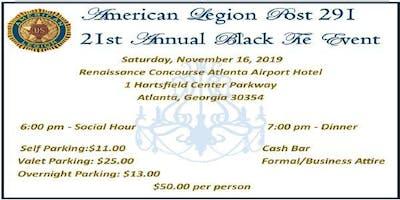 American Legion Post 291 21st Annual Black Tie Event