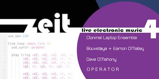 Z E I T  : live electronic music