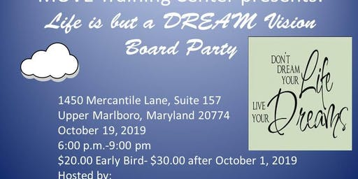 Life is but a DREAM Vision Board Party