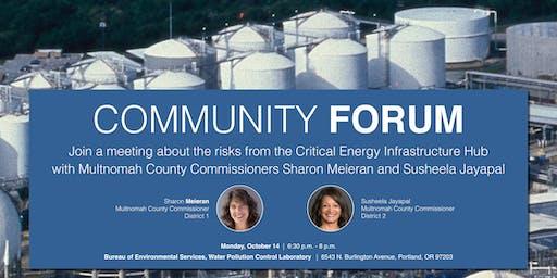 Community Forum with Commissioners Sharon Meieran and Susheela Jayapal