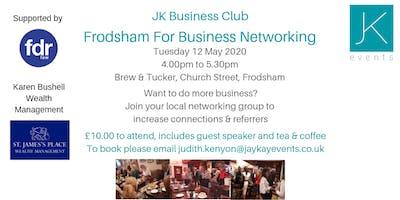 JK Business Club Frodsham For Business