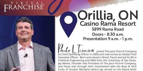 Orillia Juice Plus+ Regional tickets