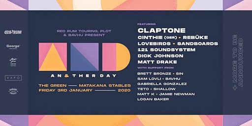 Another Day ft. Claptone, Cinthie, Rebuke, Lovebirds + more