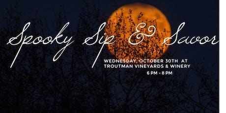 Spooky Sip & Savor tickets