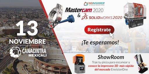 Lanzamiento SolidWorks & Mastercam 2020, Mexicali BC