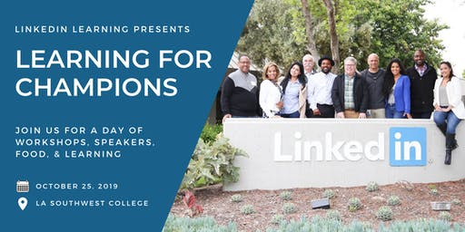 LINKEDIN LEARNING FOR CHAMPIONS