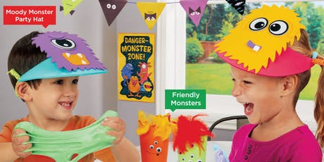 Lakeshore's Free Crafts for Kids Monster Celebration Saturdays in October (Murrieta) tickets