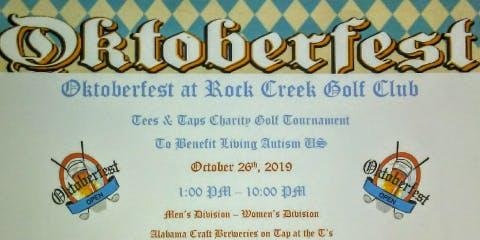 Oktoberfest Golf Tournament and Fest at Rock Creek