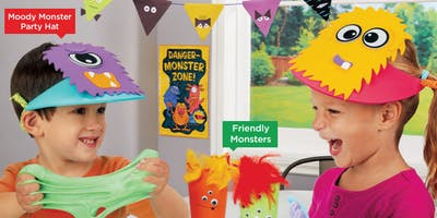 Lakeshore's Free Crafts for Kids Monster Celebration Saturdays in October (Upland)