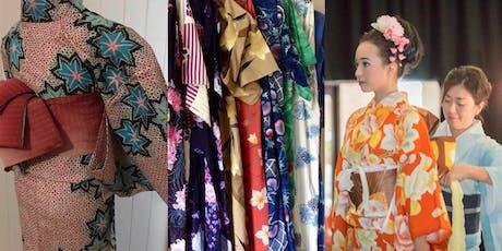 Yukata (Cotton Kimono)  workshop tickets