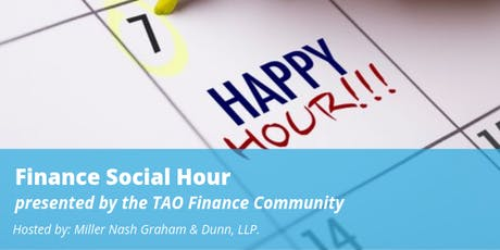 Finance Social Hour tickets