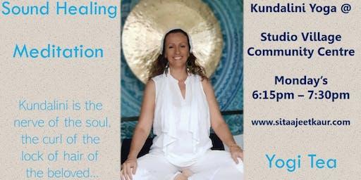 Kundalini Yoga and Sound Healing
