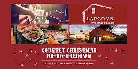 Kiwi Christmas Hoedown  7th December 2019 tickets