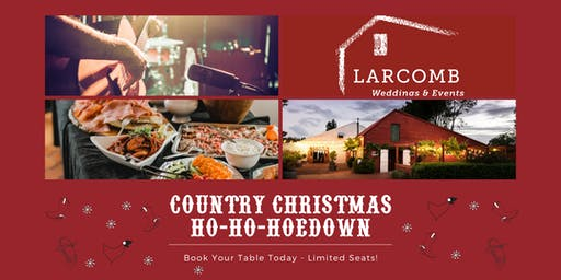 Kiwi Christmas Hoedown  7th December 2019