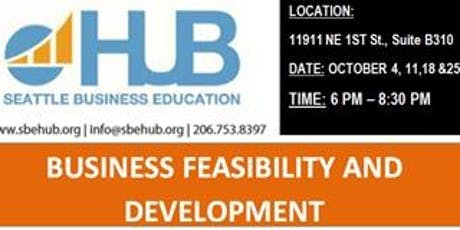 BUSINESS FEASIBILITY AND DEVELOPMENT tickets
