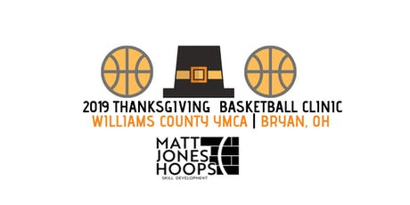 2019 Thanksgiving Basketball Clinic (1st & 2nd Grade) - Matt Jones Hoops tickets