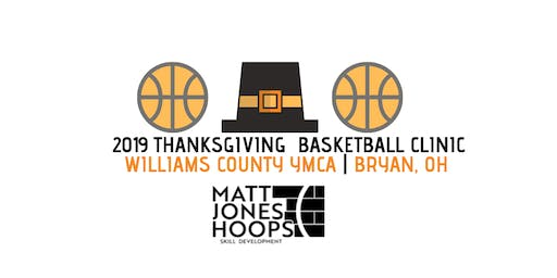 2019 Thanksgiving Basketball Clinic (1st & 2nd Grade) - Matt Jones Hoops