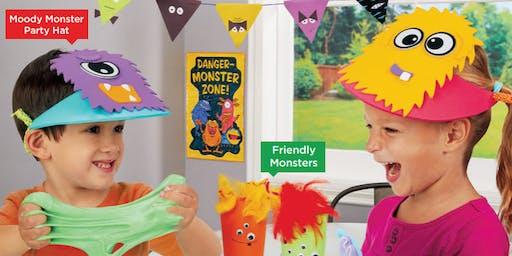 Lakeshore's Free Crafts for Kids Monster Celebration Saturdays in October (San Antonio)