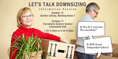 Let's talk Downsizing Information Session tickets