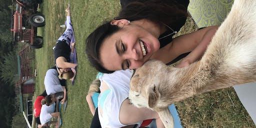 Carolina Goat Yoga Class: November 8th