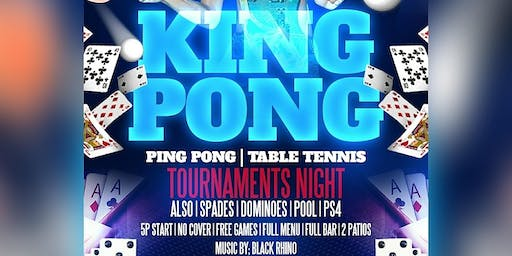 Dallas Official Game Night - Pool, Ping Pong, Cards, Uno, PS4 & more